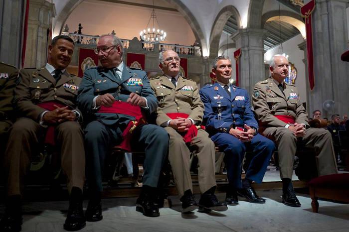 Candelaria Canarias 2015 mandos militares