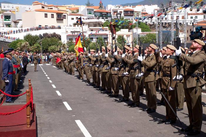 Candelaria Canarias 2015 militares