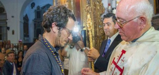 Kichi alcalde de Cadiz medalla Nazareno 2015