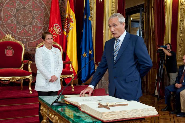 Toma posesion Aranburu Navarra 2015