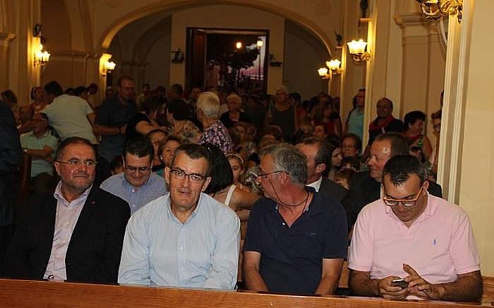 alcalde de Totana IU de procesion romeria santa Eulalia 2015 a