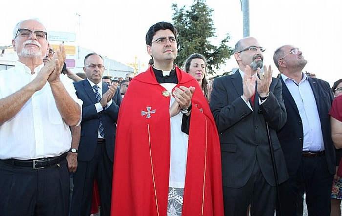 alcalde de Totana IU de procesion romeria santa Eulalia 2015 b