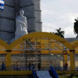 altar plaza revolucion visita Bergoglio Cuba 2015