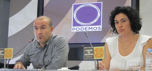 diputados podemos Aragon 2015
