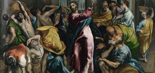 El Greco, Expulsión de los mercaderes del templo (1600)