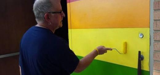 iglesia con puerta colores gay USA 2015