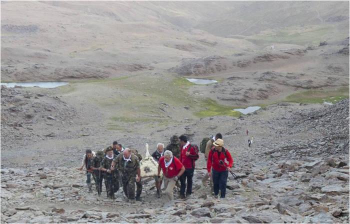 militares romeria virgen de las nieves Granada 2015 a