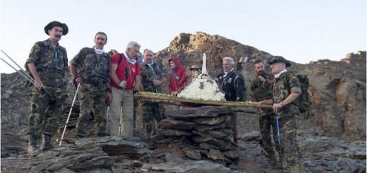 militares romeria virgen de las nieves Granada 2015 b