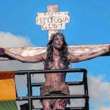 orgullo gay Sao Paulo 2015 cristo
