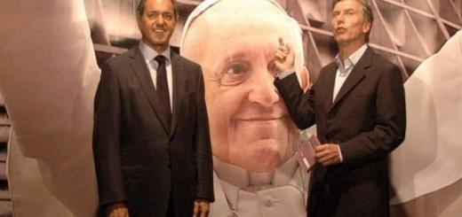 Bergoglio y politcos Argentina