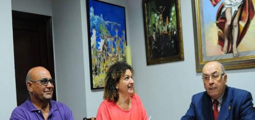 Concejales Cadiz y presidente cofradias 2015