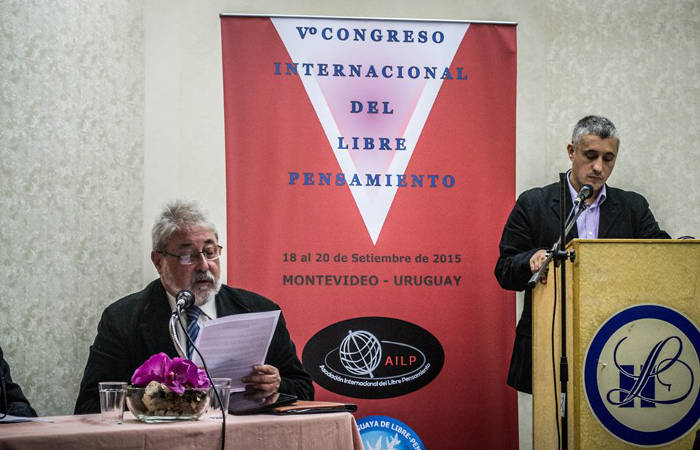 V Congreso AILP - David Gozlan - Elbio Laxalte Terra