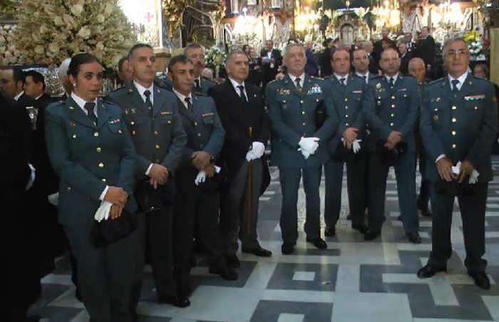 Virgen Angustias Granada 2015 subdelegado