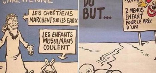 caricatura Charlie muerte refugiados 2015