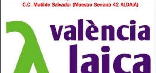 cartel acto Valencia Laica Aldaia 2015