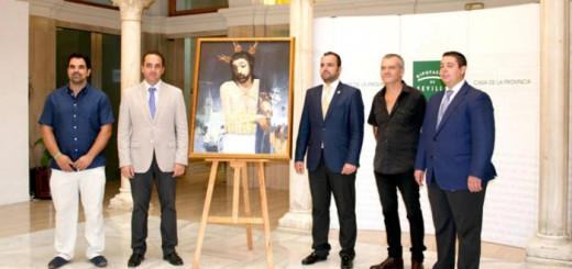 cartel romeria Valencina con alcalde