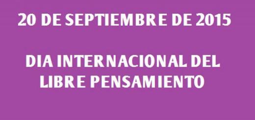 dia librepensamiento 2015