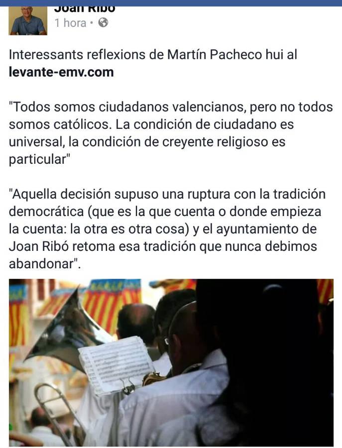 joan ribo comparte 9 octubre Valencia