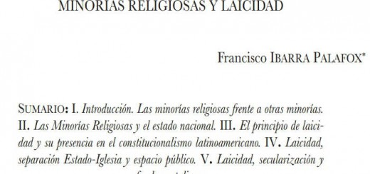 minorias religiosas y laicidad