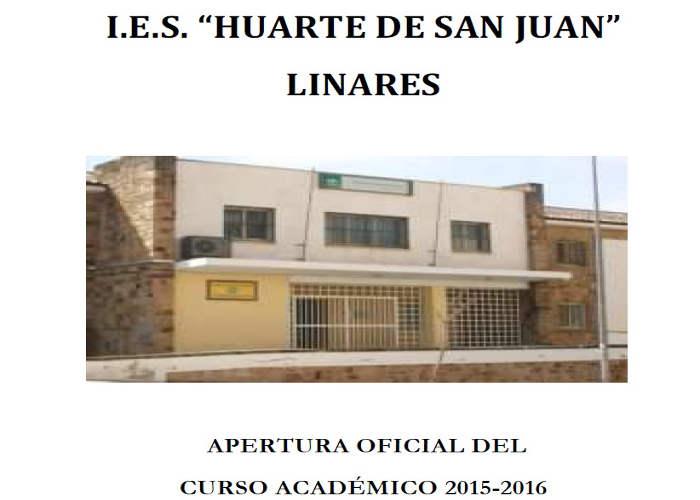 misa en IES de Linares 2015