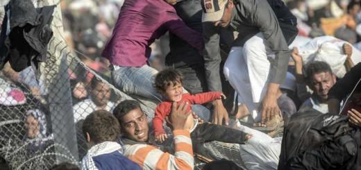refugiados siria frontera 2015