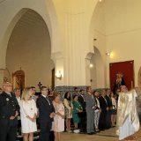 alcaldesa y autoridades misa Isla Cristina 2015