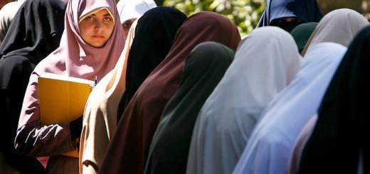 niqab y velos en la universidad Egipto