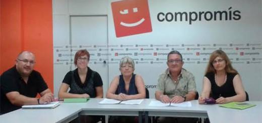 reunion Valencia Laica Compromis 2015oct