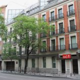 Headquarters of the Spanish Socialist Workers' Party (PSOE), at 70 Calle de Ferraz (street) in Madrid.