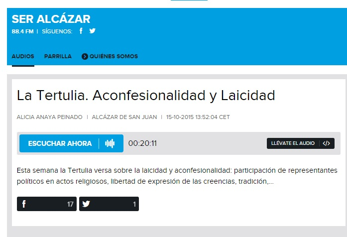 tertulia Alcazar 2015