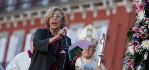 Carmena alcaldesa Madrid misa voto Almudena 2015d