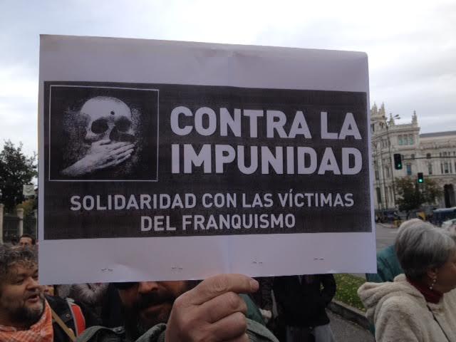 Europa Laica marcha memoria historica Madrid 2015 a