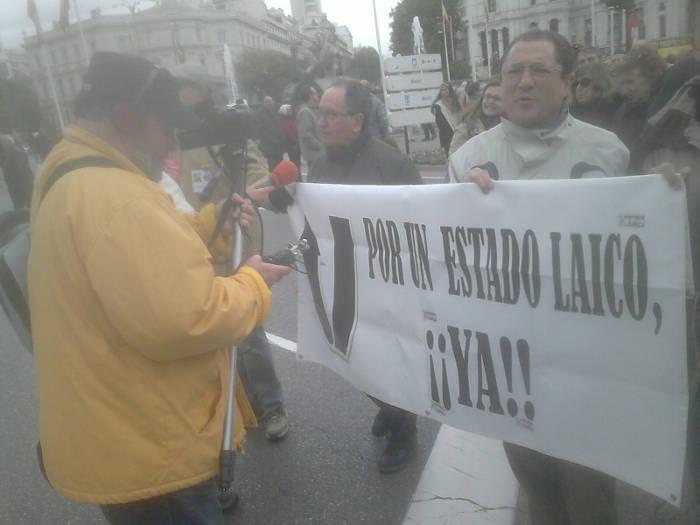 Europa Laica marcha memoria historica Madrid 2015 b