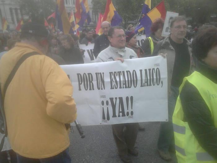 Europa Laica marcha memoria historica Madrid 2015 c