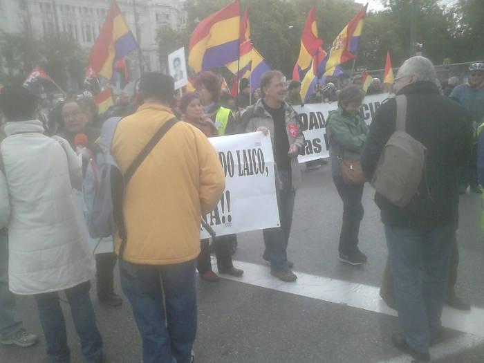 Europa Laica marcha memoria historica Madrid 2015 d