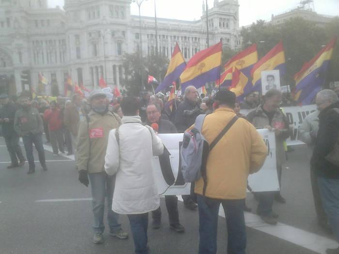 Europa Laica marcha memoria historica Madrid 2015 e