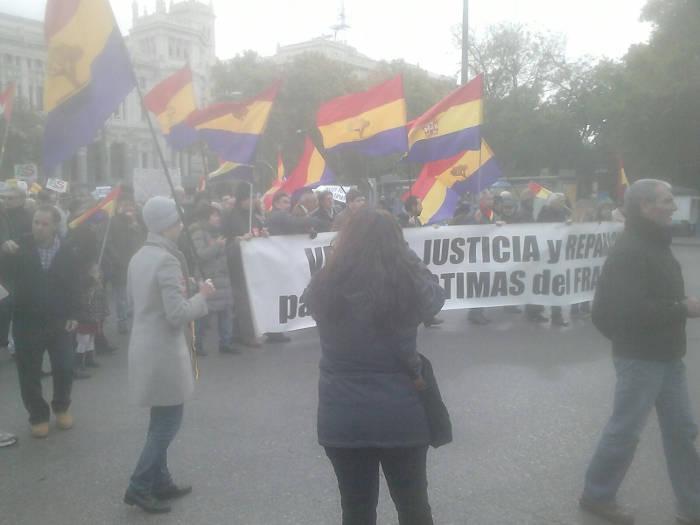Europa Laica marcha memoria historica Madrid 2015 g