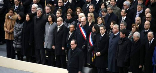 Funeral de Estado atentado Paris 2015