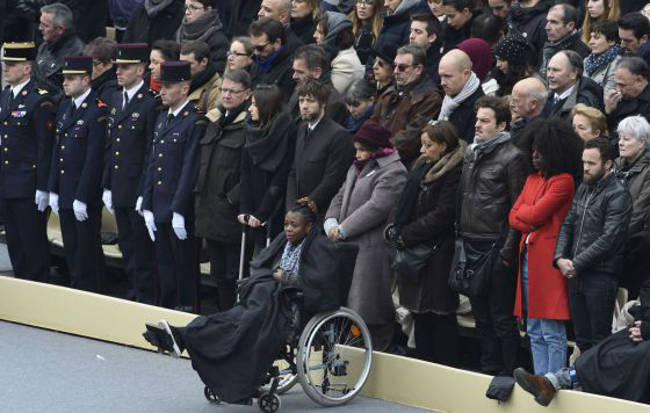 Funeral de Estado atentado Paris 2015 a