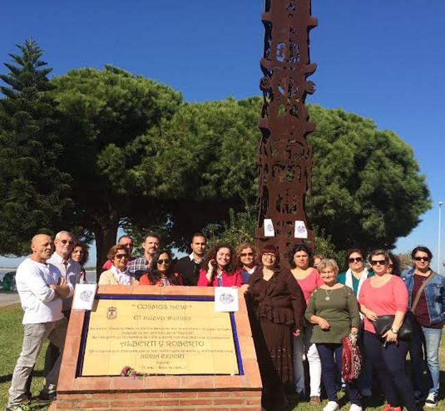 IU monumento Sanlucar alcalde quiere cambiar por virgen rocio 2015