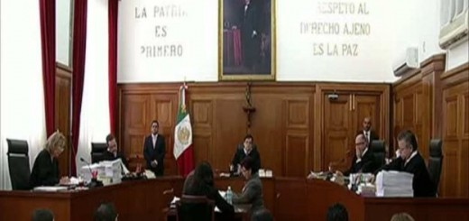 SCJN Suprema Corte de Justicia de Mexico