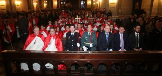 autoridades Oviedo misa procesion Cautivo 2009