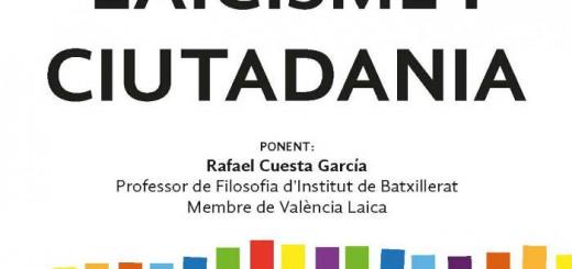 charla laicismo y ciudadania Paterna 20151126