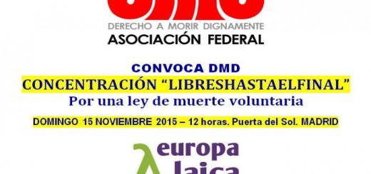 concentracion Madrid libres hasta el final DMD 2015