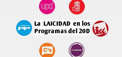 laicidad programas partidos 20D 2015