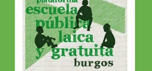 plataforma escuela laica Burgos