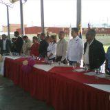 sesion municipal en Carlos Arvlo Bolivia por Dia Biblia 2015