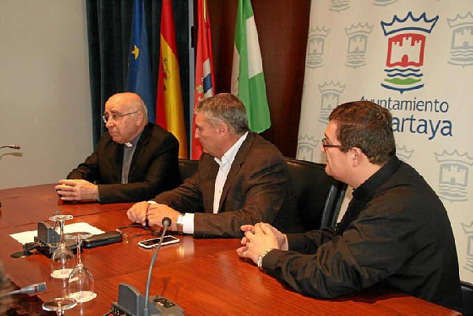 visita pastoral obispo Huelva a Cartaya 2015