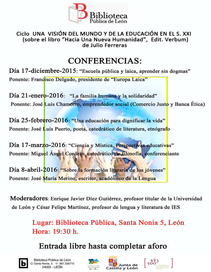 Acto Biblioteca Leon 2015