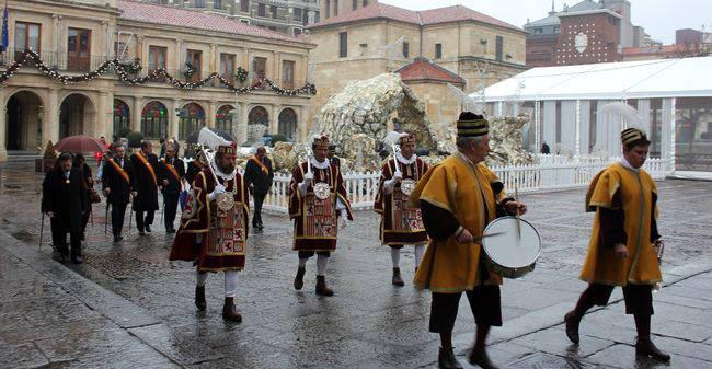Ayuntamiento Leon misa Inmaculada 2015 a